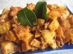 Sambal Goreng Kentang Daging Cincang